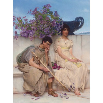 grafika-Puzzle - 2000 pieces - Sir Lawrence Alma-Tadema : An eloquent silence
