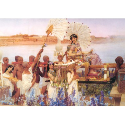 grafika-Puzzle - 1000 pieces - Sir Lawrence Alma-Tadema : The Finding of Moses