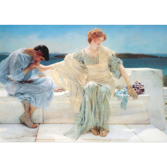 Puzzle Grafika-00174 Sir Lawrence Alma-Tadema : Ask me no more, 1906