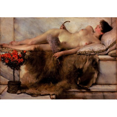 Puzzle  Grafika-00178 Sir Lawrence Alma-Tadema : In the Tepidarium