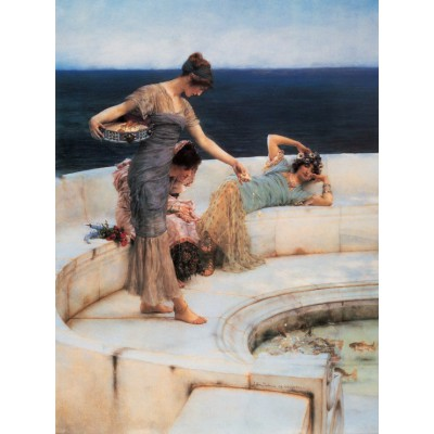 grafika-Puzzle - 2000 pieces - Sir Lawrence Alma-Tadema : Silver Favourites, 1903