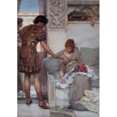 grafika-Puzzle - 1000 pieces - Sir Lawrence Alma-Tadema : A Silent Greeting