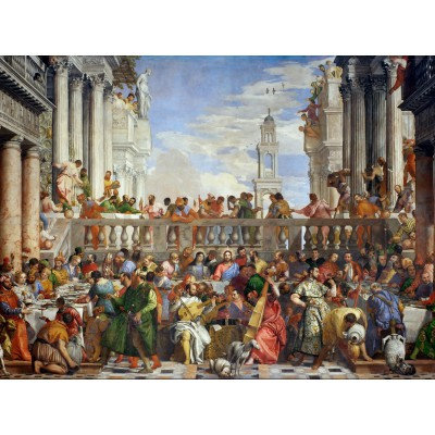 grafika-Puzzle - 2000 pieces - Paolo Veronese : The Wedding at Cana, 1563