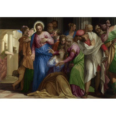 grafika-Puzzle - 1000 pieces - Paolo Veronese : The Conversion of Mary Magdalene, 1548
