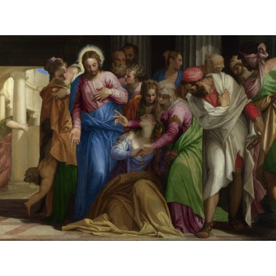grafika-Puzzle - 2000 pieces - Paolo Veronese : The Conversion of Mary Magdalene, 1548