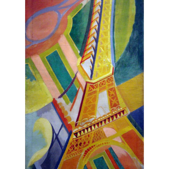 Puzzle Grafika-00322 Robert Delaunay: Eiffel Tower, 1926