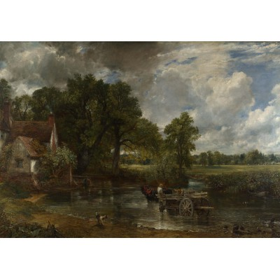 grafika-Puzzle - 1000 pieces - John Constable: The Hay Wain, 1821