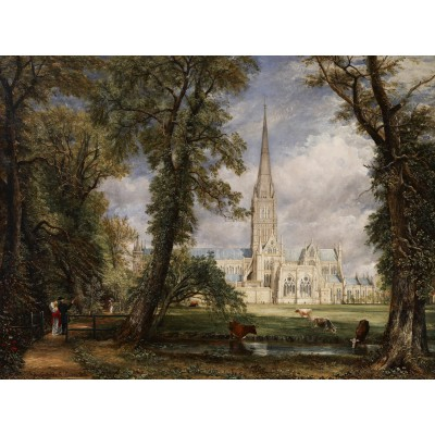 grafika-Puzzle - 2000 pieces - John Constable, 1825