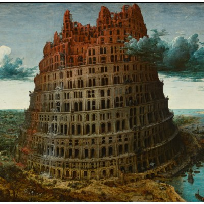 grafika-Puzzle - 1500 pieces - Brueghel : The Tower of Babel