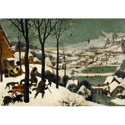grafika-Puzzle - 1000 pieces - Brueghel : Hunters in the Snow