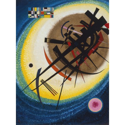 grafika-Puzzle - 2000 pieces - Wassily Kandinsky : In the Bright Oval, 1925