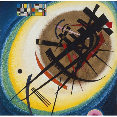 grafika-Puzzle - 1500 pieces - Wassily Kandinsky : In the Bright Oval, 1925