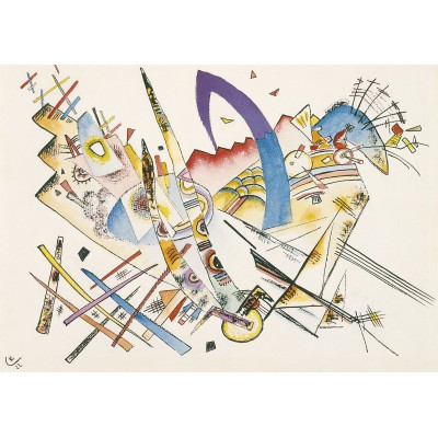 grafika-Puzzle - 1000 pieces - Wassily Kandinsky : Untitled, 1922