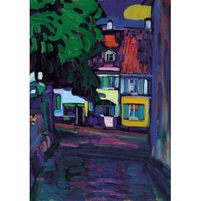 grafika-Puzzle - 1000 pieces - Wassily Kandinsky : Murnau, Houses in the Obermarkt, 1908