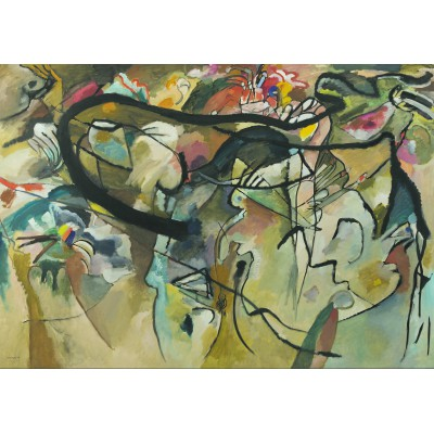 grafika-Puzzle - 1000 pieces - Wassily Kandinsky : Composition V - 1911