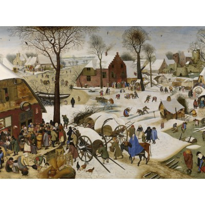 grafika-Puzzle - 2000 pieces - Brueghel Pieter: Numbering at Bethlehem