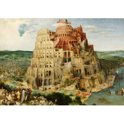 Puzzle  Grafika-00703 Brueghel Pieter: Tower of Babel, 1563