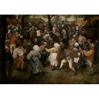 grafika-Puzzle - 1000 pieces - Brueghel Pieter: The Wedding Dance, 1566