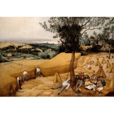 grafika-Puzzle - 1000 pieces - Brueghel Pieter: The Harvesters, 1565