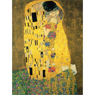 Puzzle  Grafika-00723 Klimt Gustav : The Kiss, 1907-1908