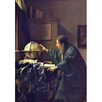 grafika-Puzzle - 1000 pieces - Vermeer Johannes: The Astronomer, 1668
