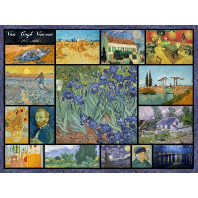 grafika-Puzzle - 2000 pieces - Collage - Vincent Van Gogh