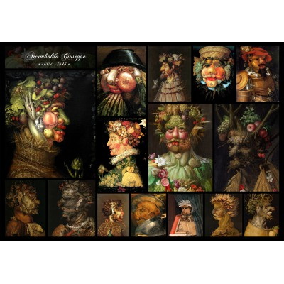grafika-Puzzle - 1000 pieces - Arcimboldo Giuseppe - Collage
