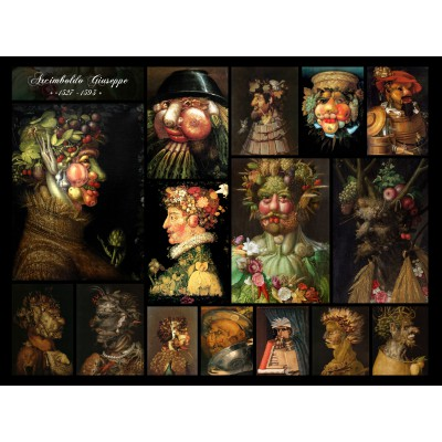 grafika-Puzzle - 2000 pieces - Arcimboldo Giuseppe - Collage