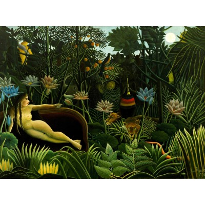 grafika-Puzzle - 2000 pieces - Henri Rousseau: The Dream, 1910