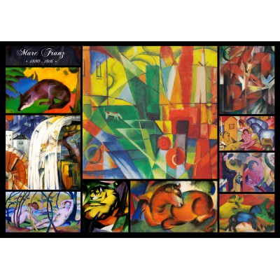 Puzzle  Grafika-00855 Franz Marc - Collage