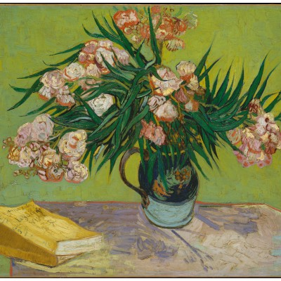 grafika-Puzzle - 1500 pieces - Van Gogh: Oleanders,1888