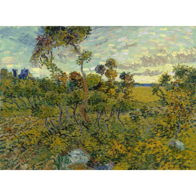 grafika-Puzzle - 2000 pieces - Van Gogh: Sunset at Montmajour, 1888