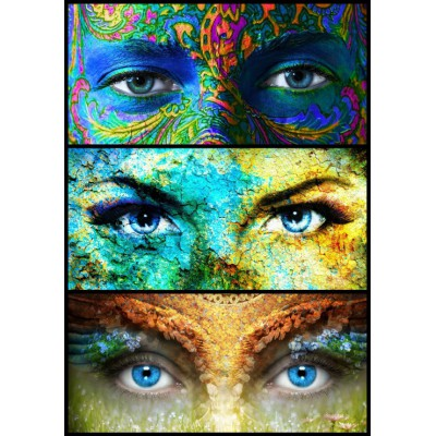 Puzzle  Grafika-00877 Women Eyes