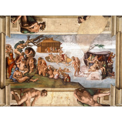 grafika-Puzzle - 2000 pieces - Michelangelo