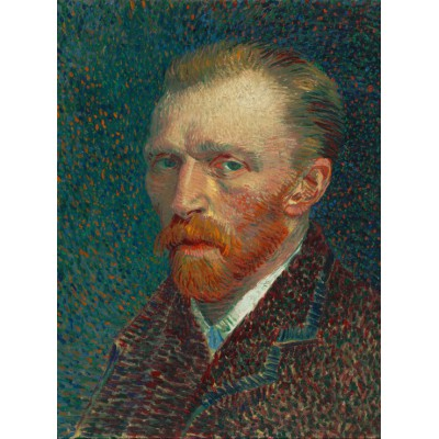 grafika-Puzzle - 2000 pieces - Vincent van Gogh: Self-Portrait, 1887