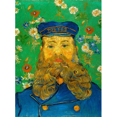 grafika-Puzzle - 2000 pieces - Vincent van Gogh: Portrait of Joseph Roulin, 1889