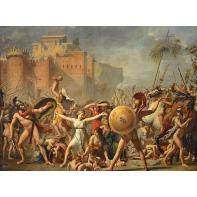 grafika-Puzzle - 2000 pieces - Jacques-Louis David: The Intervention of the Sabine Women, 1799