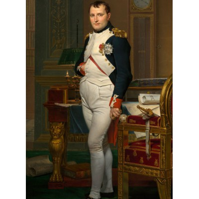 grafika-Puzzle - 2000 pieces - Jacques-Louis David: The Emperor Napoleon in his study at the Tuileries, 1812