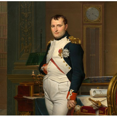 grafika-Puzzle - 1500 pieces - Jacques-Louis David: The Emperor Napoleon in his study at the Tuileries, 1812