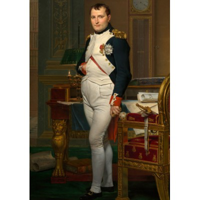 grafika-Puzzle - 1000 pieces - Jacques-Louis David: The Emperor Napoleon in his study at the Tuileries, 1812