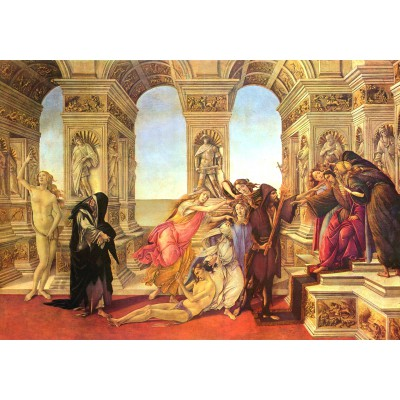 grafika-Puzzle - 1000 pieces - Sandro Botticelli: Calumny of Apelles, 1495-1497