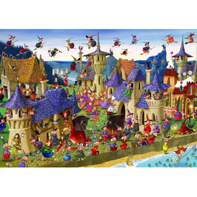grafika-Puzzle - 1000 pieces - François Ruyer: Witches