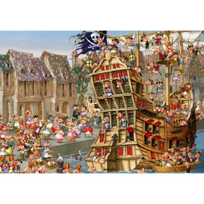 grafika-Puzzle - 1000 pieces - François Ruyer: Pirates