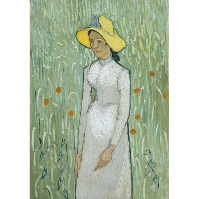 Puzzle Grafika-01514 Vincent Van Gogh - Girl in White, 1890