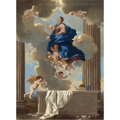 grafika-Puzzle - 300 pieces - Nicolas Poussin: The Assumption of the Virgin, 1630/1632