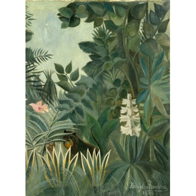 grafika-Puzzle - 2000 pieces - Henri Rousseau: The Equatorial Jungle, 1909