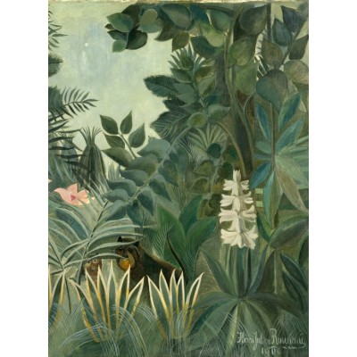 grafika-Puzzle - 300 pieces - Henri Rousseau: The Equatorial Jungle, 1909
