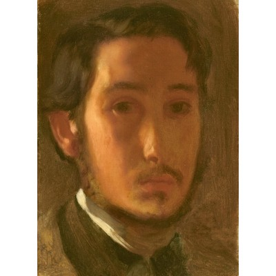 grafika-Puzzle - 300 pieces - Edgar Degas: Self-Portrait with White Collar, 1857