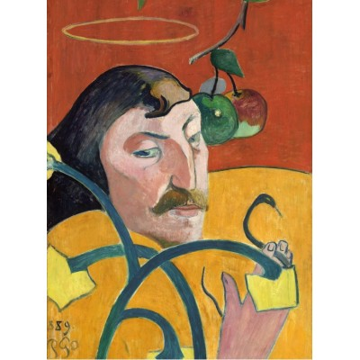grafika-Puzzle - 2000 pieces - Paul Gauguin: Self-Portrait, 1889