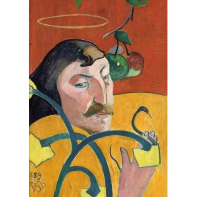 grafika-Puzzle - 1000 pieces - Paul Gauguin: Self-Portrait, 1889